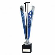 Grand Ty-Cone Presentation Cup Silver/Blue 12.5 Inch