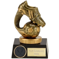 Meridian Boot & Ball Football Trophy Flexx - AGGT - 4 3/8 (11cm) - New 2018