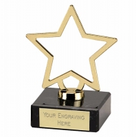Galaxy Gold Star Gold 3 3/4 Inch