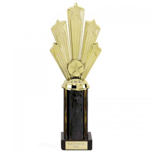 Supreme 5 Star Black Award Gold/Black 10 5/8 Inch