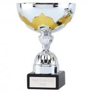 Eagle Gilt Presentation Cup Silver/Gold 7.5 Inch