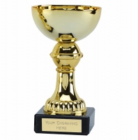 Nordic5 Gold Presentation Cup Gold 5 Inch