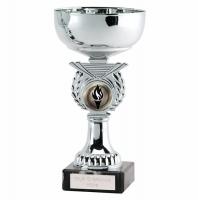 Crusader6.75 Silver Presentation Cup Silver 6.75 Inch
