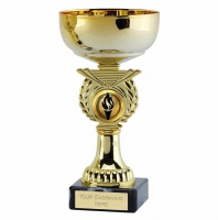 Crusader6 Gold Presentation Cup Gold 6 Inch