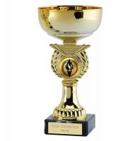 Crusader6 Gold Presentation Cup Gold 6 Inch