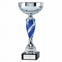 Saturn11 Presentation Cup Silver/Blue 11 inch