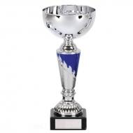 Grant9 Presentation Cup Silver/Blue 9 3/8 Inch