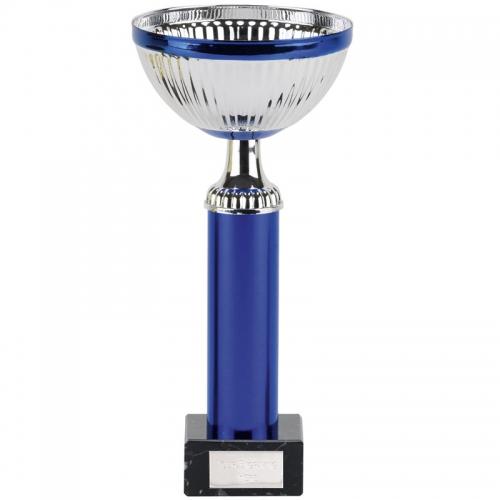 Atlas Silver Blue Presentation Cup