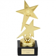 Pole Star Trophy - Gold - 7 1/8 inch (18cm) - New 2018
