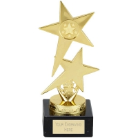 Pole Star Trophy - Gold - 7.5 inch (19cm) - New 2018