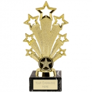 Fanfare Trophy - Gold - 7 1/8 inch (18cm) - New 2018