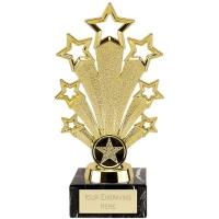Fanfare Trophy - Gold - 7 1/8 inch (18cm)- New 2018