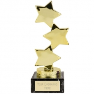 Hope Star Gold Trophy - Gold - 7 1/8 inch (18cm) - New 2018