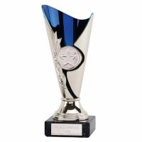Monaco Cup Silver Blue 6 1 8 Inch (15.5cm) : New 2019