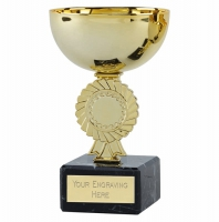 Rosette Gold Cup 5.25 Inch (13.5cm) : New 2019