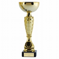 Chequer Gold Cup 9.25 Inch (23.5cm) : New 2019