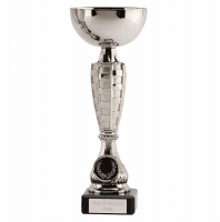 Chequer Silver Cup 8.5 Inch (21.5cm) : New 2019