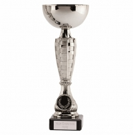 Chequer Silver Cup 9.5 Inch (23.5cm) : New 2019