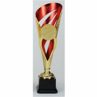 Grand Voyager Presentation Cup Trophy Award Gold/Red 12.5 Inch (31.5cm) : New 2020
