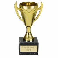Chevron Gold Presentation Cup Trophy Award 6 Inch (15cm) : New 2020