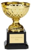 Tweed Mini Presentation Cup Trophy Award Gold 4.75 Inch (12cm) : New 2020