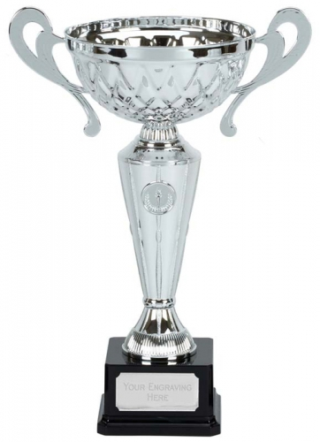 Tweed Presentation Cup Trophy Award with Handles 14.25 Inch (36cm) : New 2020