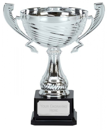 Motion Silver Presentation Cup Trophy Award 9 7/8 Inch (25cm) : New 2020