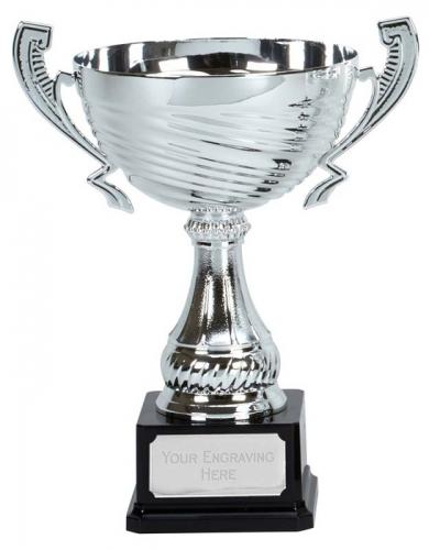 Motion Silver Presentation Cup Trophy Award 11.25 Inch (28.5cm) : New 2020