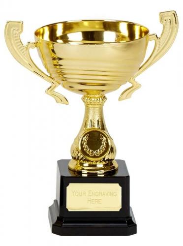 Motion Gold Presentation Cup Trophy Award 7.5 Inch (19cm) : New 2020