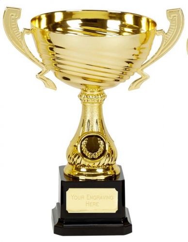 Motion Gold Presentation Cup Trophy Award 8.5 Inch (21.5cm) : New 2020