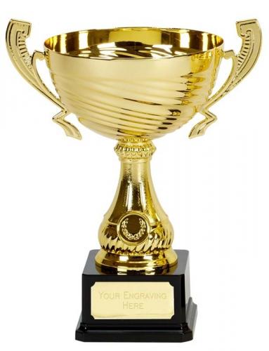 Motion Gold Presentation Cup Trophy Award 11.25 Inch (28.5cm) : New 2020