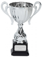 Link Track Trophy Award Silver Presentation Cup Trophy Award 8 7/8 Inch (22.5cm) : New 2020