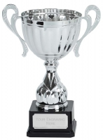 Link Track Trophy Award Silver Presentation Cup Trophy Award 13 7/8 Inch (34.5cm) : New 2020