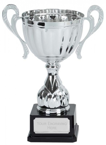 Link Track Trophy Award Silver Presentation Cup Trophy Award 13 7/8 Inch (34.5cm) : New 2020