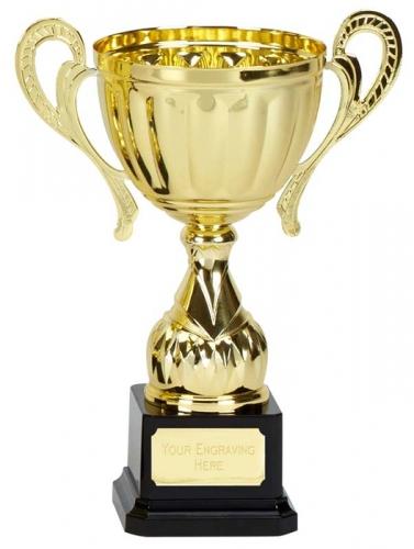Link Track Trophy Award Gold Presentation Cup Trophy Award 8 7/8 Inch (22.5cm) : New 2020