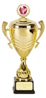 Link Prestige Gold Presentation Cup Trophy Award 16 5/8 Inch (42cm) : New 2020
