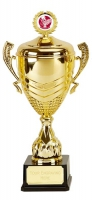 Link Prestige Gold Presentation Cup Trophy Award 22 3/8 Inch (56.5cm) : New 2020