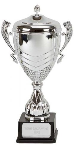 Link Apex Silver Presentation Cup Trophy Award 19.5 Inch (49cm) : New 2020