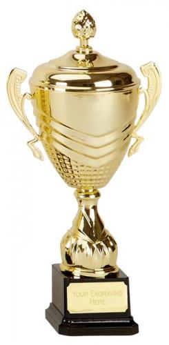 Link Apex Gold Presentation Cup Trophy Award 11.75 Inch (30cm) : New 2020