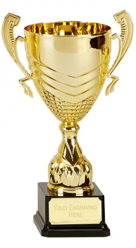 Link Gold Presentation Cup Trophy Award 12 Inch (30.5cm) : New 2020