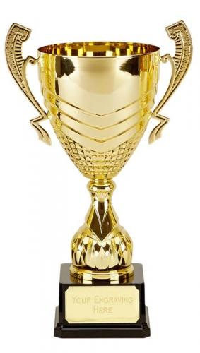 Link Gold Presentation Cup Trophy Award 15 5/8 Inch (39.5cm) : New 2020