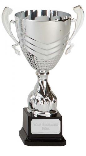 Link Silver Presentation Cup Trophy Award 9.75 Inch (24.5cm) : New 2020