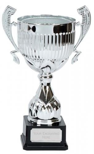 Alpha Silver Presentation Cup Trophy Award 15.75 Inch (39.5cm) : New 2020