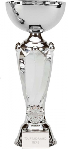Tower Twin Silver Presentation Cup Trophy Award 11.75 Inch (30cm) : New 2020