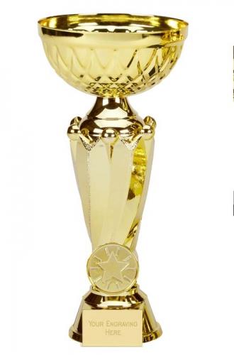 Tower Tweed Gold Presentation Cup Trophy Award 7.5 Inch (19cm) : New 2020
