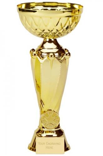 Tower Tweed Gold Presentation Cup Trophy Award 10.5 Inch (26.5cm) : New 2020
