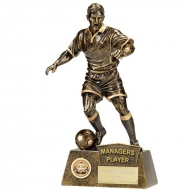 Pinnacle8 Football Trophy Managers Player AGGT 8.75 Inch