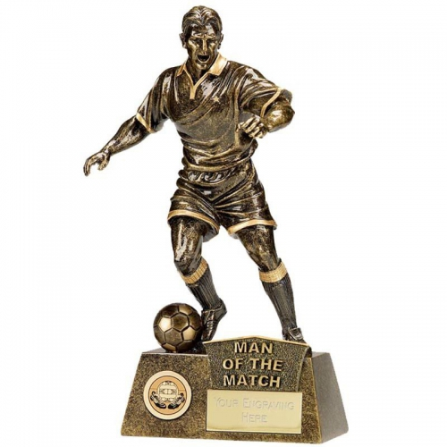 Pinnacle8 Football Trophy Man of the Match AGGT 8.75 Inch