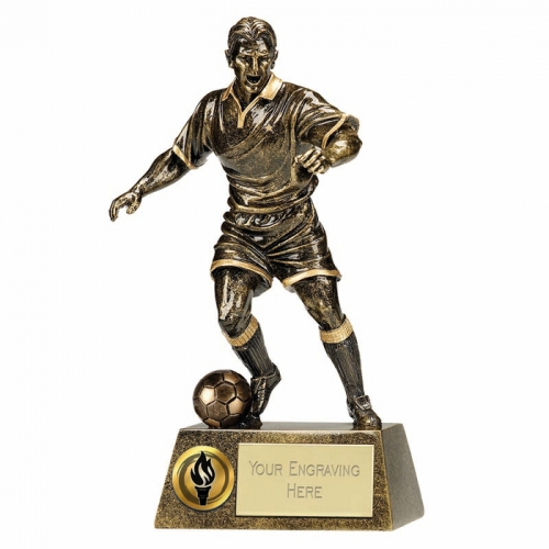 Pinnacle9 Football Trophy Male AGGT 9.5 Inch