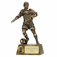 Pinnacle12 Football Trophy Male AGGT 11.75 Inch